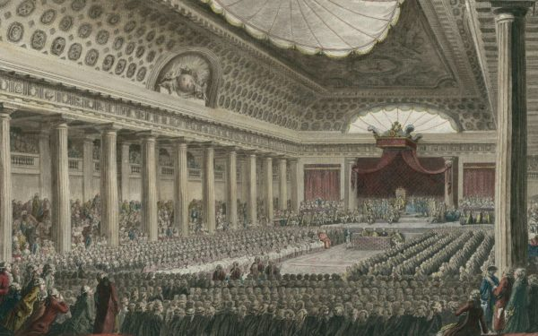 The meeting of the Estates General on 5 May 1789 at Versailles