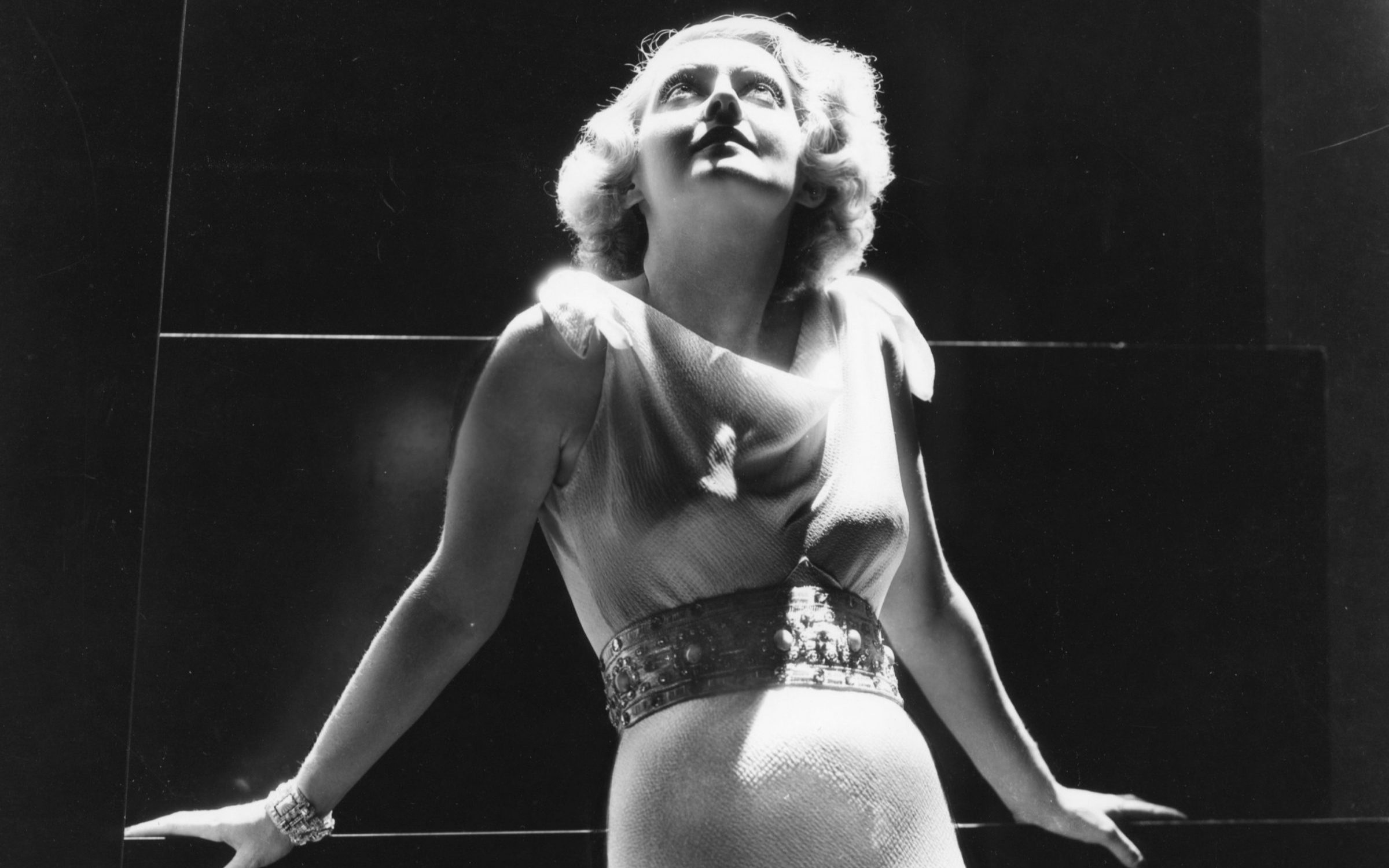 American actress Bette Davis, whose waist was reportedly insured for $28,000. Credit: Warner Bros. Pictures / Sunset Boulevard / Corbis via Getty Images.