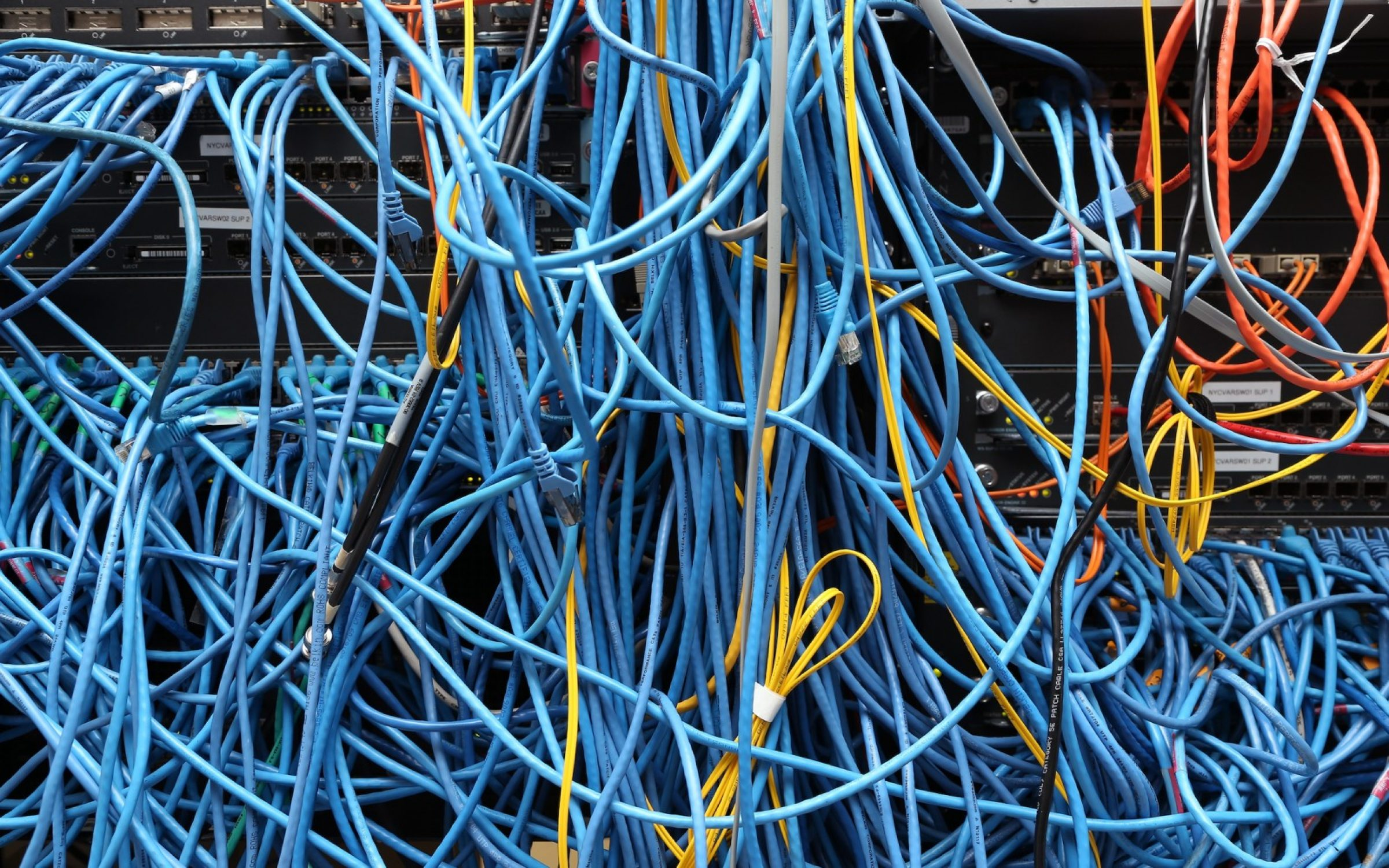 A network server in New York City, 2014. Credit: Getty Images.