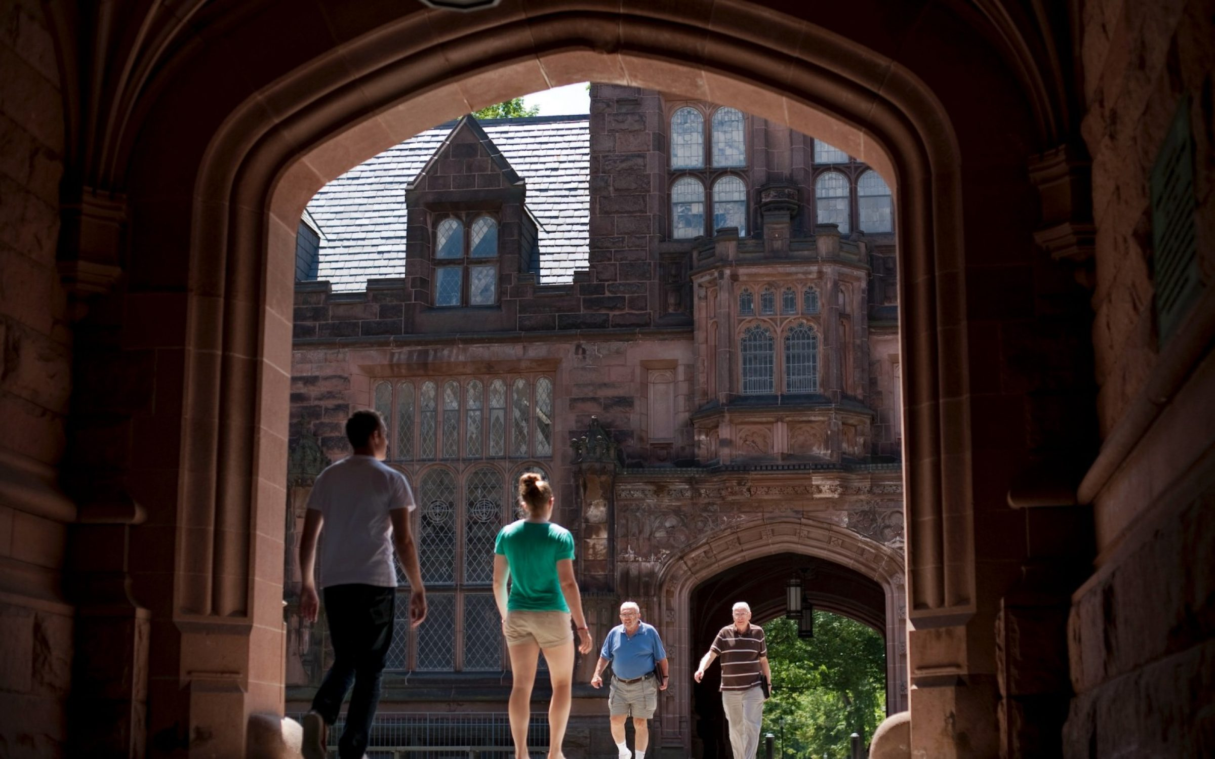The quads at Princeton University, New Jersey, USA. Credit: Bloomberg / Getty Images.