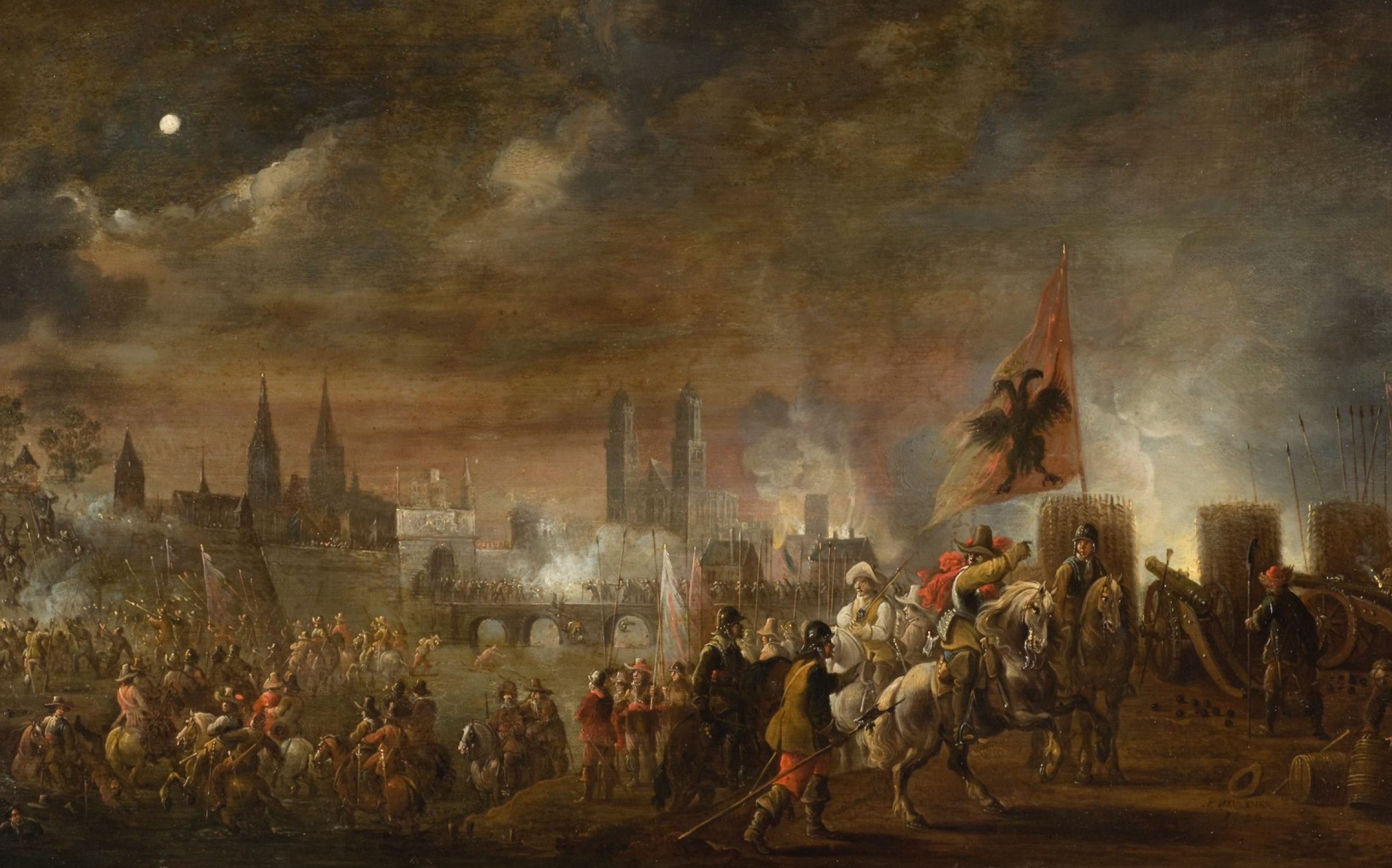 Scene from the Siege of Magdeburg